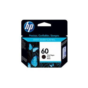 Cartucho de Tinta HP Preto 60 Original P/ - HP F4224 4480 4580 D110a 410a 1660 C4780