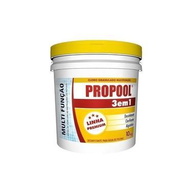 Imagem de Cloro Granulado p/ Piscina Propool 3 Em 1 - Hidroall 10kg