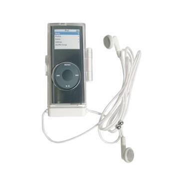 Estojo Em Acrílico Com Fone De Ouvido Para Ipod Nano - I-Concepts 14988Ip