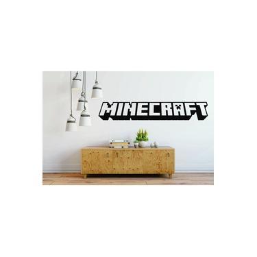 Adesivo De Parede Decorativo Game Gamer Jogo Minecraft