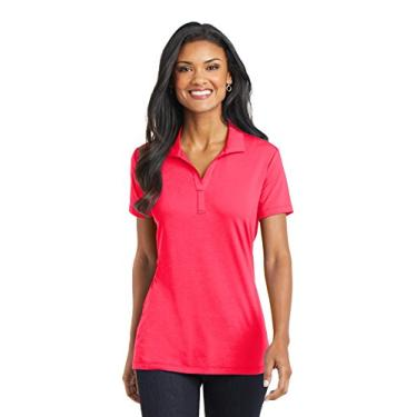 Camisa polo Cotton Touch Performance (L568) Hot Coral, PP
