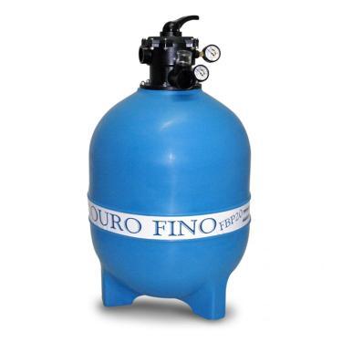 Filtro para Piscina FBP-36 para Bomba 1.1/2 CV Ouro Fino Azul