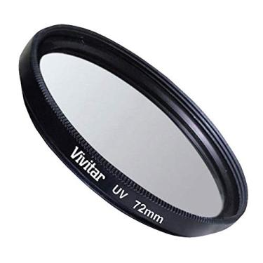 8550aa730f Filtro Ultravioleta para Lentes de 72 mm, Vivitar, Acessórios para Câmeras  Digitais