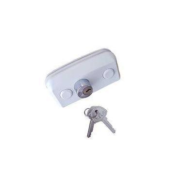 Conjunto Fechadura para Porta de Vidro/alvenaria com cilindro