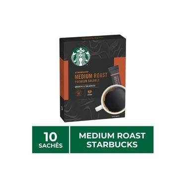 1 Caixa Café Solúvel Instantâneo, Medium Roast, Starbucks