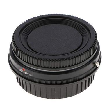 Imagem de KESOTO Anel Adaptador para Lente Minolta MD para Câmera EOS EF C/Vidro