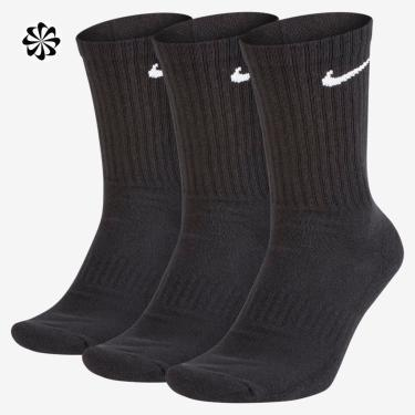 Meia Nike Everyday Cushion Crew (3 pares)