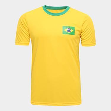 361a0c247d Camisas de Times de Futebol Casuais Brasil Netshoes