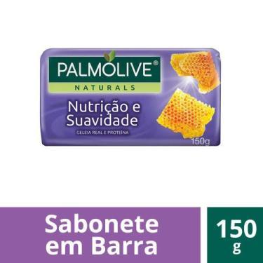 Sabonete em Barra Palmolive Naturals Nutrição  Suavidade 150g