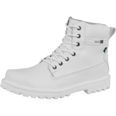 Bota CR Shoes Cat Adventure Branco.  masculino