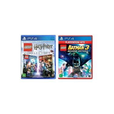 LEGO Harry Potter Collection + LEGO Batman 3 Beyond Gotham - PS4