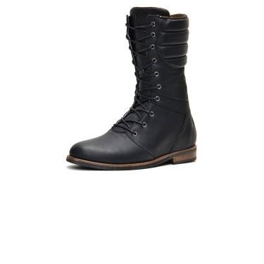 Bota Coturno em Couro Tamanho Grande Shoes Grand Europa Preto  masculino
