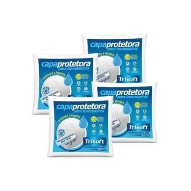 Imagem de Capa Protetora De Travesseiro Em Percal 200 Fios - Kit Com 4 Peças