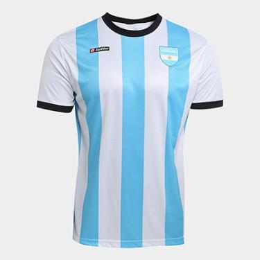 515a4be2f9 Camisas de Times de Futebol Casuais Argentina Netshoes