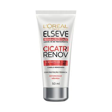 Imagem de Leave-In de Tratamento L'Oréal Elseve Cicatri Renov com 50ml 50ml