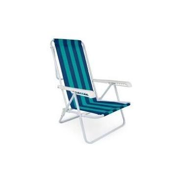 Cadeira Listras 8 Posições - Mor