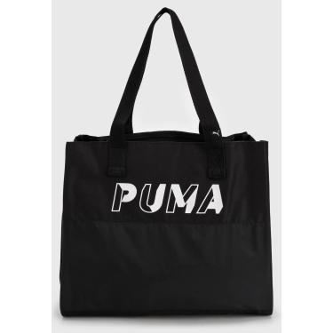 Bolsa Puma Core Base Large Shopper Preta Puma 77930 01 feminino
