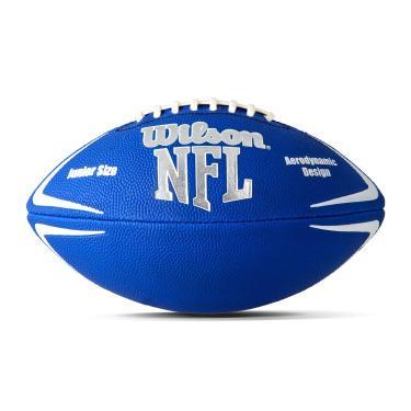 Bola Futebol Americano Wilson NFL Avenger - Azul com Branco
