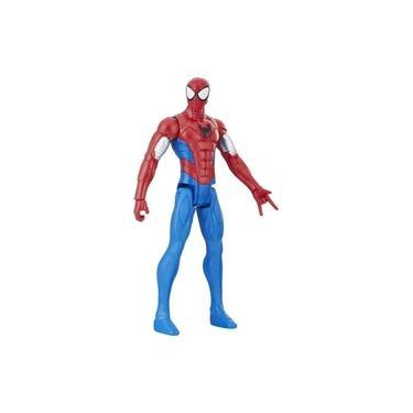 Boneco Avengers Marvel Titan Hero Power FX - Spider Man Blindado - Homem Aranha - E2343/E2324 - Hasbro