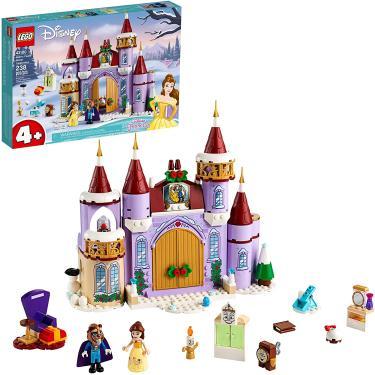 Imagem de LEGO Disney Belle's Castle Winter Celebration (43180) Disney Princess Building Kit; Faz um ótimo aniversário para crianças que amam a bela e a fera da Disney, Nova 2020 (238 Peças)