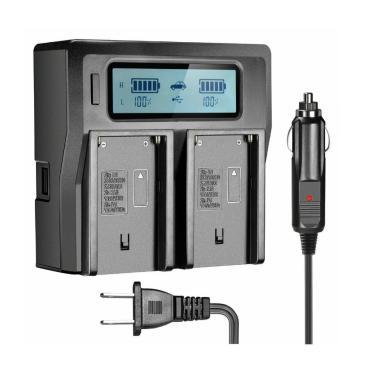 Imagem de Carregador de bateria rápido para câmeras sony