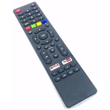 Controle Remoto para TV Philco Smart 4k com Teclas Netflix Youtube Ginga