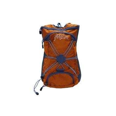 Mochila de hidratação para ciclismo laranja - Sansegal - Guepardo