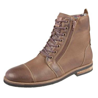 Bota Shoes Grand Urbano Tamanho Especial Tabaco  masculino