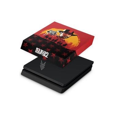 Capa Anti Poeira para PS4 Slim - Red Dead Redemption 2