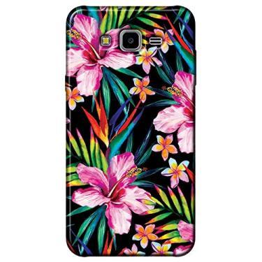 Capa Personalizada para Samsung Galaxy J7 Neo - Flor - FL12