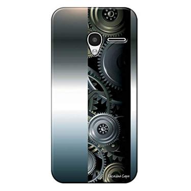 Capa Personalizada para Alcatel Pixi 3 4.5 Hightech - HG09