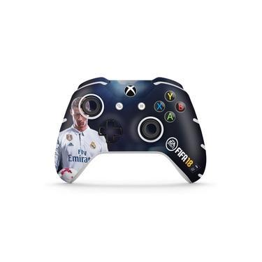 Skin Adesivo para Xbox One Slim X Controle - Fifa 18