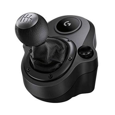 Câmbio Logitech G Driving Force - Compatível com Volantes Logitech G923, G29 e G920 para PS5, PS4, Xbox Series X|S, Xbox One e PC