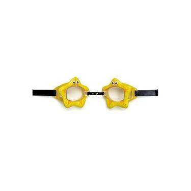 Imagem de Óculos De Natação Play Bichinhos Animados Estrela Amarela - Intex