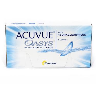 4ca26a5219b3c Lentes de contato Acuvue Oasys com Hydraclear Plus grau-2.50