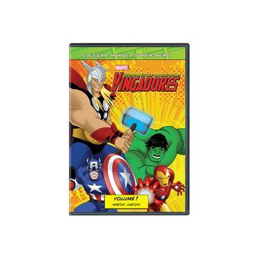 Imagem de DVD Os Vingadores: Os Super-Heróis Mais Poderosos da Terra - Volume 1