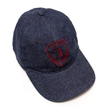 Boné Aleatory Bordado Shield-Azul Marinho-Único