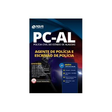 Imagem de Apostila PC-AL 2020 - Agente e Escrivão de Polícia