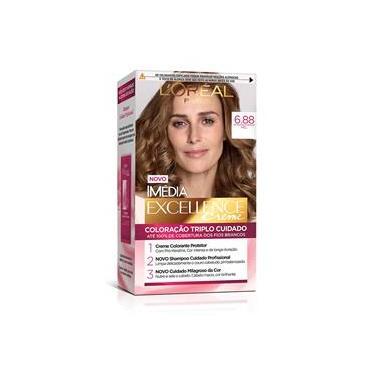 L`Oréal Imédia Excellence Coloração Creme - 6.88 Mel Tabaco
