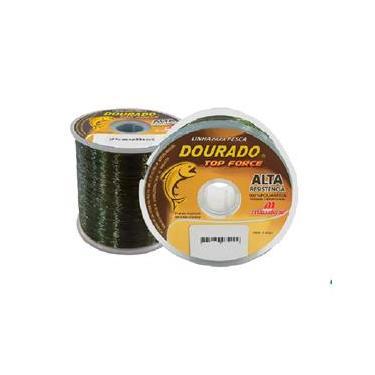 Linha Pesca Dourado Top Force 0,50 mm Verde 469 M 36,6 Lbs