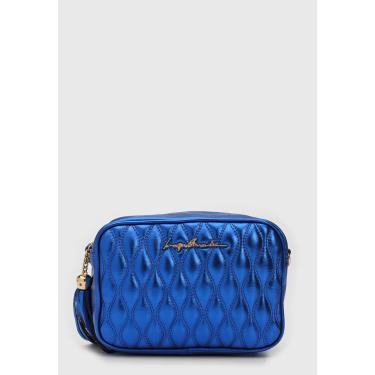 Bolsa Luiza Barcelos Matelassê Azul Luiza Barcelos 77770041 feminino