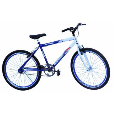 Bicicleta Aro 26 Wendy Masc S/Marcha Com Aero Cor Azul