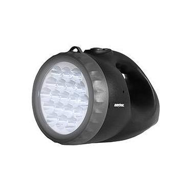 Lanterna Recarregável Rayovac 19 LED CM-4 - Preta