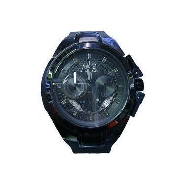 8ea0c2b0c7a Relógio de Pulso Armani Exchange Borracha Calendário