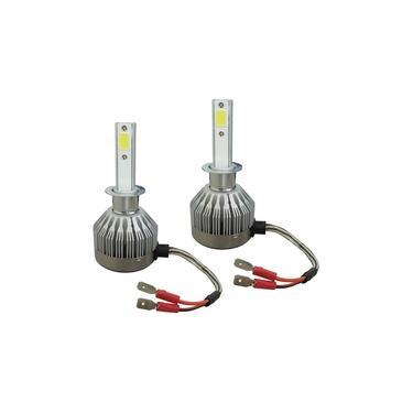 Par Lâmpada Super LED H1 12V 24V 6500K Tiger Auto