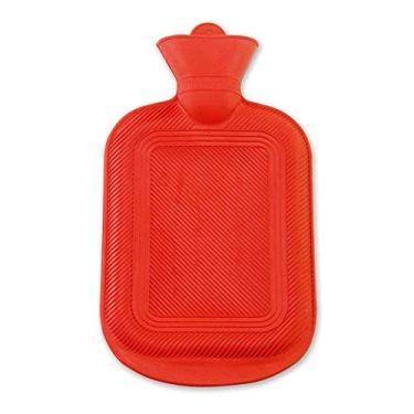 Imagem de Bolsa Térmica de Água Quente 1L em Borracha Clink Import Vermelho