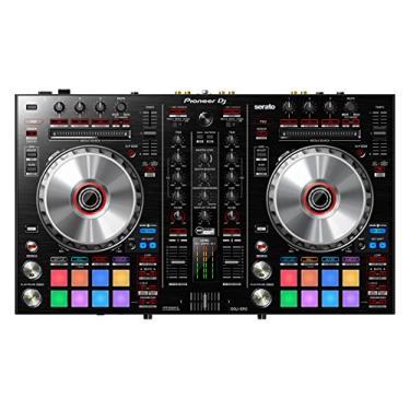Pioneer DJ Controlador portátil de 2 canais DDJ-SR2 para Serato DJ