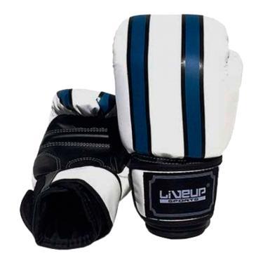 46058b320 Luva De Boxe Liveup Sports Ls3086c 12Oz Branco Azul