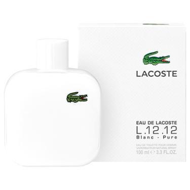 ab5cf1db06220 Perfume L.12.12 Blanc-Pure Masculino Lacoste EDT 100ml - Masculino