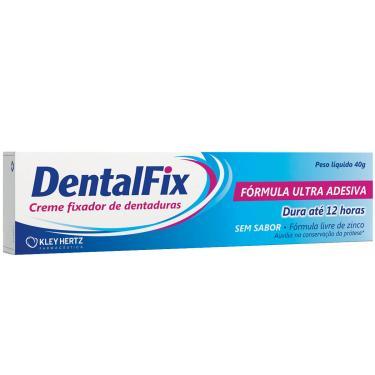 Creme Fixador de Dentadura Sem Sabor Dentalfix 40g